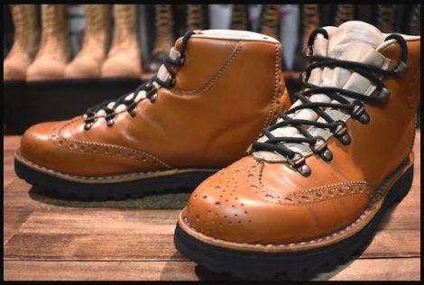 【良品】DIEMME ディエッメ マウンテンブーツ メダリオントゥ ブーツ ベージュ 40 イタリア製 HOPESMORE