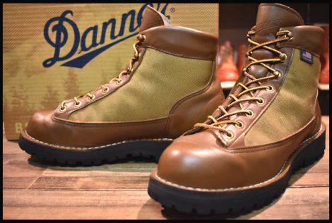 【箱付 良品 白タグ】Danner ダナーライト ブーツ 30420X 茶 ブラウン ゴアテックス 8EE GORE-TEX HOPESMORE