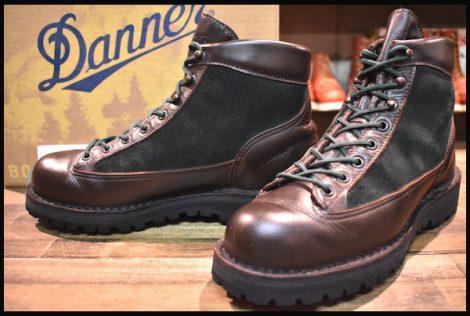 【9EE 箱付 良品 白タグ】Danner ダナー エクスプローラー ブーツ 30600X グリーン 緑 ブラウン ゴアテックス GORE-TEX HOPESMORE
