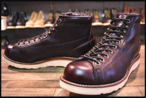 【7EE 良品 黒タグ】Chippewa チペワ モンキー ブーツ 1901G38 レーストゥトー コードバン ワークブーツ HOPESMORE