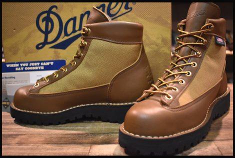 【6.5W 箱付 美品 白タグ】Danner ダナーライト ブーツ 30420X 茶 ブラウン ゴアテックス GORE-TEX HOPESMORE