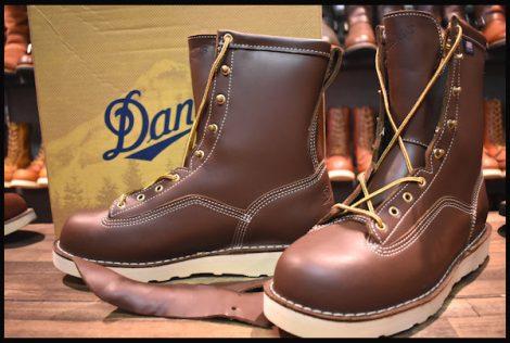 【11EE 箱付 DEAD】Danner ダナー フォアマン GTX ブーツ 15200 ブラウン レザー 編み上げ 未使用 ゴアテックス GORE-TEX HOPESMORE