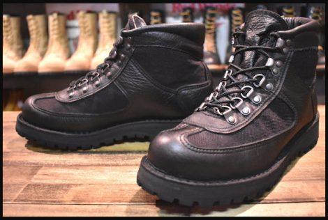 【美品 白タグ】Danner ダナー フェザーライト ブーツ 20917X 黒 ブラック ゴアテックス GORE-TEX HOPESMORE