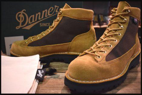【10.5EE 箱付 美品 白タグ】Danner ダナー バンクーバー ブーツ 37503 ブラウン スエード ゴアテックス HOPESMORE