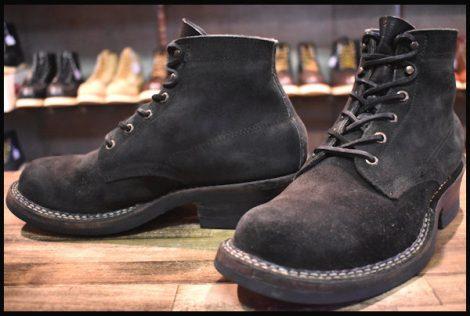 【良品】WHITE'S ホワイツ セミドレス 2332 スエード ブーツ ブラック ラフアウト 黒 7.5E HOPESMORE