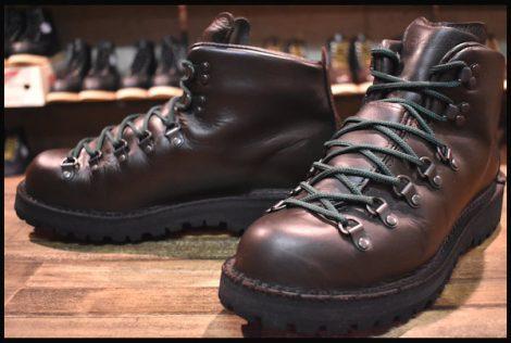 【良品 白タグ】Danner ダナー マウンテンライト2 ブーツ 30800X 茶 ブラウン ゴアテックス GORE-TEX 8.5EE HOPESMORE