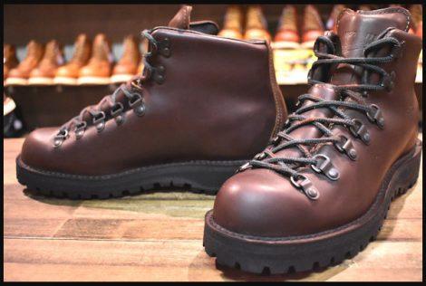 【8.5D 美品 黒タグ】Danner ダナー マウンテンライト ブーツ 30800 茶 ブラウン ゴアテックス HOPESMORE