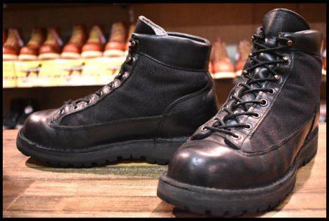【8EE 中古 黒タグ】Danner ダナーライト ブラック 31400X ブーツ GORE-TEX ゴアテックス 黒 HOPESMORE