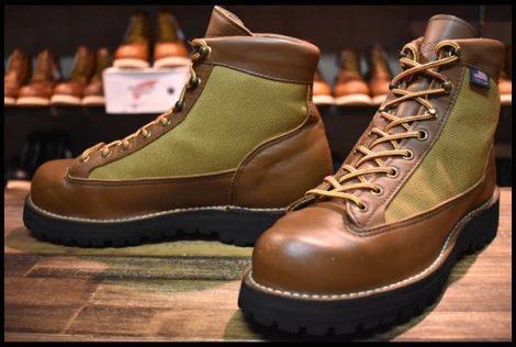 【7.5EE 良品 白タグ】Danner ダナーライト ブーツ 30420X 茶 ブラウン ゴアテックス GORE-TEX HOPESMORE