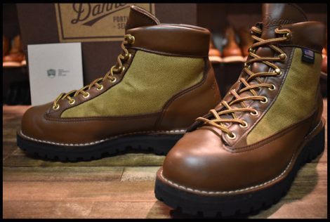 【8.5EE 美品 白タグ】Danner ダナーライト ブーツ 30440 茶 ブラウン ゴアテックス GORE-TEX 30420X HOPESMORE