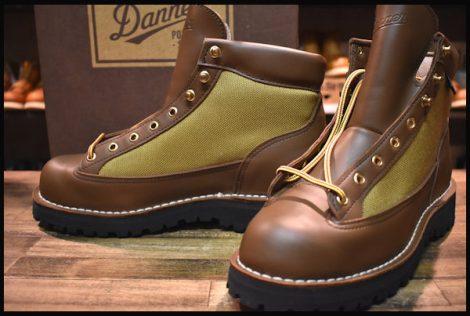 【9EE 未使用 白タグ】Danner ダナーライト ブーツ 30440 茶 ブラウン ゴアテックス GORE-TEX HOPESMORE
