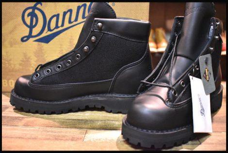 【7EE 箱付 DEAD 白タグ】Danner ダナーライト ブラック ブーツ 黒 31400X ゴアテックス GORE-TEX HOPESMORE