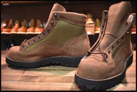 【9EE DEAD 白タグ】Danner ダナーライト2 ブーツ 33000X ヌバック 茶 ブラウン ゴアテックス GORE-TEX HOPESMORE
