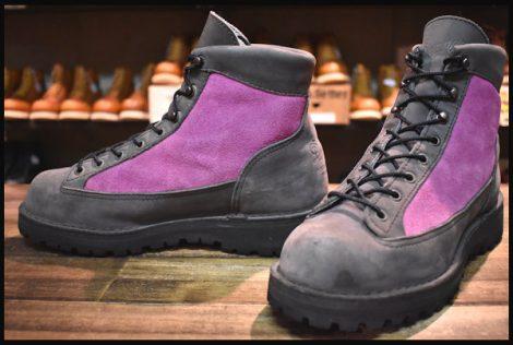 【7EE 良品 白タグ】Danner ダナーライト ブーツ 33005X アッシュ/ピンク ヌバック ゴアテックス HOPESMORE