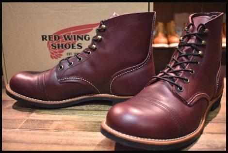 【10D 箱付 美品 16年】レッドウィング 8119 アイアンレンジ ブーツ オックスブラッドメサ キャップトゥ redwing HOPESMORE
