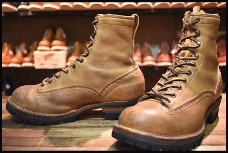 【8E 中古 07年】WESCO ウエスコ カスタムジョブマスター LTT ブーツ 8インチハイト バーラップ ビブラム100シングル HOPESMORE